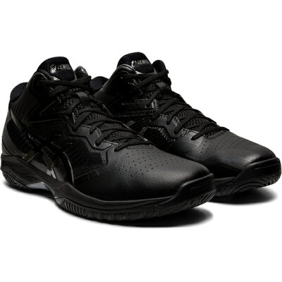 ゲルフープ V12 ワイド バスケットボールシューズ サイズ:23.5cm カラー:ブラック×ガンメタル #1063A020-001