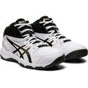アシックス asics DUNKSHOT MB 9 1064A006 100 WHITE/BLACK 24.5cm