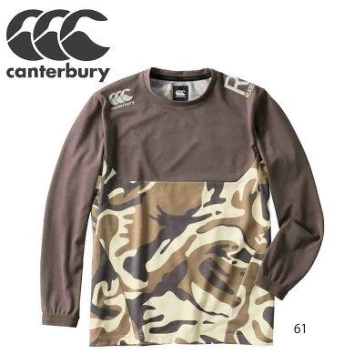カンタベリー canterbury rp49520p ラグビー ウェア l/s workout tee カプチーノ