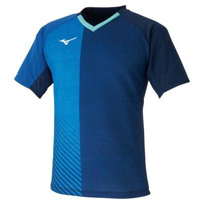 ミズノ MIZUNO メンズ レディース 卓球 ゲームシャツ 2020 卓球女子日本代表モデル ドレスネイビー 82JA0011 14