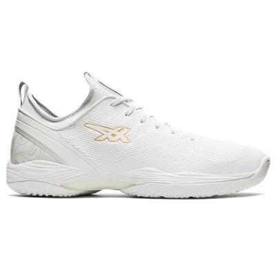 アシックス asics メンズ レディース バスケットボールシューズ グライド ノヴァ 2 GLIDE NOVA FF 2 ホワイト/ゴールド 1061A038 102