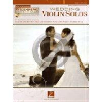 楽譜 ウェディング・ヴァイオリンソロ集 CD付き