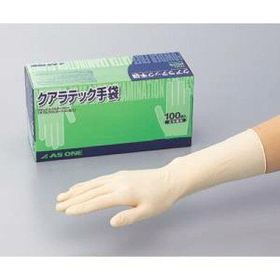 アズワン クアラテック手袋(DXパウダーフリー) M 1箱(100枚入)