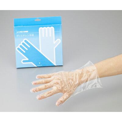 アズワン ポリエチレン手袋スタンダードL 2-4973-01