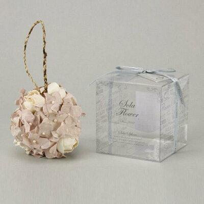 Sola Flower(ソラフラワー) スフィア(球体ブーケ) (Elegant Peony -エレガントピオニー-(Grey))