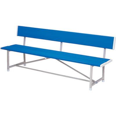 ノーリツイス RBA-1800 B ベンチ 背付 青 ブル- RBA1800B 284-5946