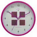 STARLINE TICKAWAY 掛時計 ソーラーハイブリットクロック ピンク TWS-1162 PK