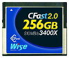 Wise CFast 2.0 メモリーカード 256GB