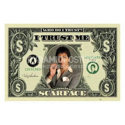 映画『スカーフェース/SCARFACE($)』ポスター