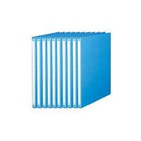 Forestway Z式レバーファイル A4 ブルー 10冊 FRW-896193
