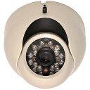 セレン 赤外線投光器内蔵カラードームカメラ SEC-G852