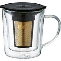 コレス(cores ) ゴールドフィルター ダブルウォール マグカップ 180ml C402
