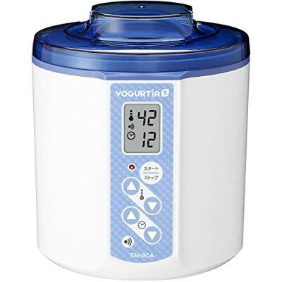 TANICA 甘酒&ヨーグルトメーカー1.2L ヨーグルティアS YS-01B ブルー