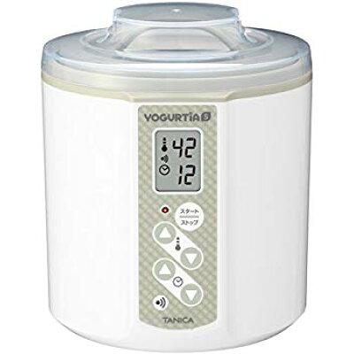 tanica 温度調節 25-70°c タイマー ブザー付ヨーグルトヨーグルティアs   ys-01 ホワイト