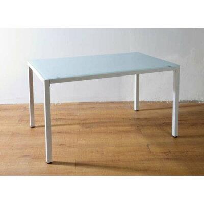 will ウィルリミテッド ガラスダイニング テーブル ホワイト pa-12075