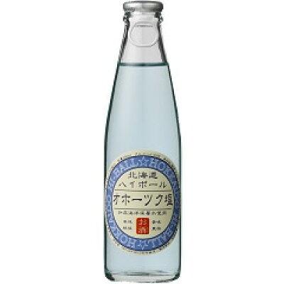 北海道麦酒醸造 北海道ハイボール オホーツク塩 瓶 200ml