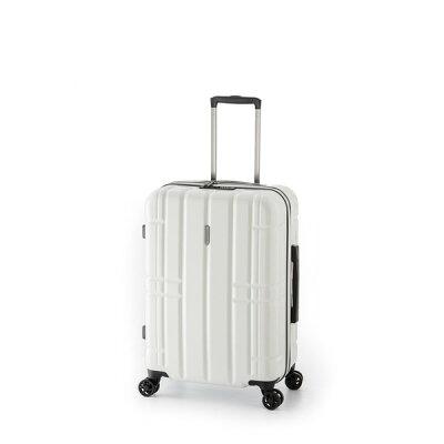 A.L.I/アジア・ラゲージ *ALI-MAX28 AliMaxG 拡張 ファスナータイプ スーツケース ホワイト