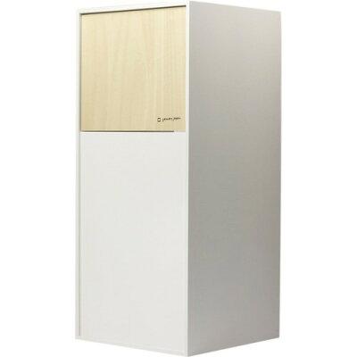 ヤマト工芸 ダストボックス DOORS mini YK12-105-Wh ホワイト