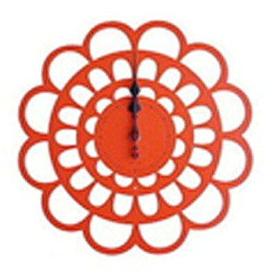 ヤマト工芸 掛時計 BOTAN YK13-101-Or オレンジ
