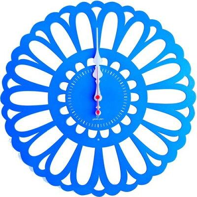 マーガレット 掛け時計 ブルー YK13-102 BL(1コ入)