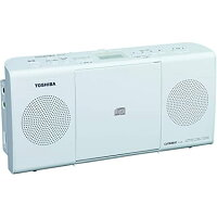 東芝 CDラジオ ホワイト TY-C24(W)