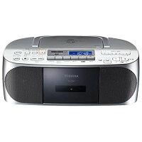 東芝 CDラジオカセットレコーダー シルバー TY-CDX7(S)
