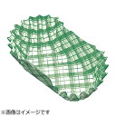 アヅミ産業 ココ・ケース 500枚入 小判型 9号 緑 5754920