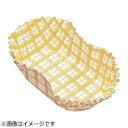 アヅミ産業 紙カップ ココケース小判型 500枚入 11号 黄 XAZ3815