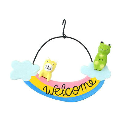 Welcomeボード レインボー 10219825097 1381608