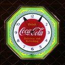 COCA-COLA BRAND コカコーラブランド レトロネオンクロック Delicious and Refreshing PJC-R03