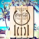 Coca-Cola/コカコーラ ウッド サインボード ARROW PJ-WP03