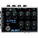 ALBIT アルビット A1PS-B BASS PRE-AMP with DC9V POWER SUPPLY