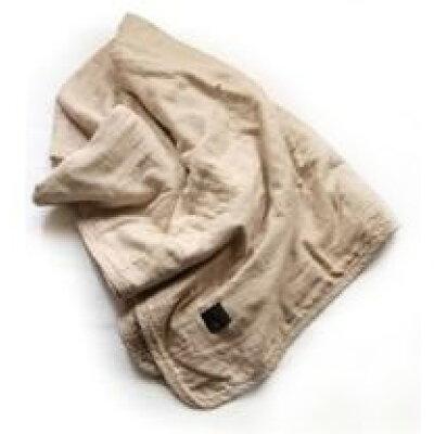 fabric plus 5重ガーゼキルトケット 無添加 ダブルサイズ カフェオレベージュ