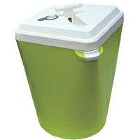 圧縮ゴミ箱 グリーン ゴミ箱