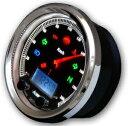 ACEWELL CA085-652-B 多機能デジタルメーター 15000RPM ブラックパネル