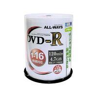 リーダーメディアテクノ DVD-R ALLWAYS ACPR16X100PW