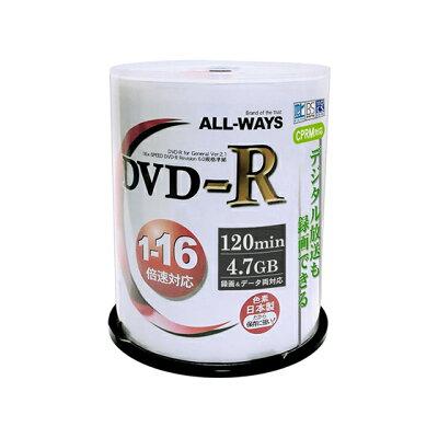 ALLWAYS  DVD-R ACPR16X100PW