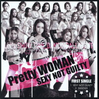 SEXY NOT GUILTY【Type A】/CDシングル(12cm)/SNR-17163
