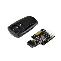 SilverStone 2.4GHzワイヤレス対応PCオン/オフ/リセットリモコン ワイヤレスリモコン SST-ES02-USB