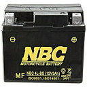 4L-BS NBC バイク用バッテリー 4LBS