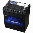 NBC NBC44B19L 自動車用バッテリー 44B19L 40B19L互換 1個
