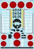 A-48041 アシタのデカール 1/48 中島 C6N1 艦上偵察機 彩雲 302空 夜戦隊/343空 奇兵隊 MYK DESIGN
