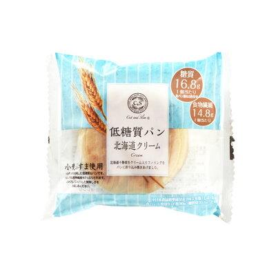 ピアンタ Cut&Slim 低糖質パン 北海道クリーム 1個