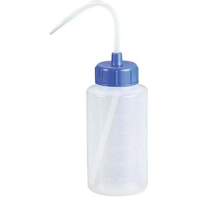 カラーキャップ広口洗浄瓶 1L ライトブルー 927-22-22-87