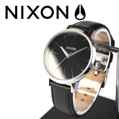 NIXON (ニクソン) 腕時計 THE KENSINGTON LEATHER BLACK NA108000-00 レディース