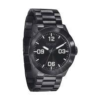 NIXON ニクソンメンズ腕時計THE PRIVATE SSオールブラックA276-001