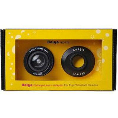 instax mini 7S チェキ7用魚眼レンズ フィッシュアイレンズ+アダプターセット HOLGA FEL-F7S