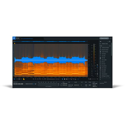 iZotope RX7 Elements オーディオ修復ソフト ダウンロード版 アイゾトープ
