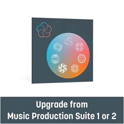 iZotope Music Production Suite 3 upgrade from Music Production Suite 1 or 2 アップグレード版