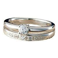 ウルティマ シルバー2連リング 指輪11号